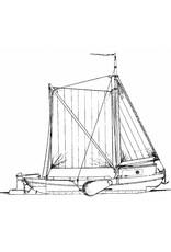 """NVM 16.05.001 zeilvrachtschip """"stalen aak"""" (1925)"""