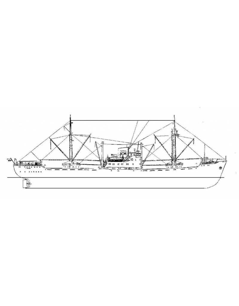 """NVM 16.10.014 vrachtschip ms """"Beninkust"""" (1954) - VNS/HWAL"""
