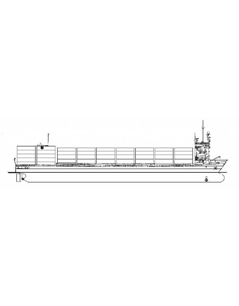 "NVM 16.10.020 containerschip ms ""Alarni"" (1986) - Van Nievelt Goudriaan/Netcon"