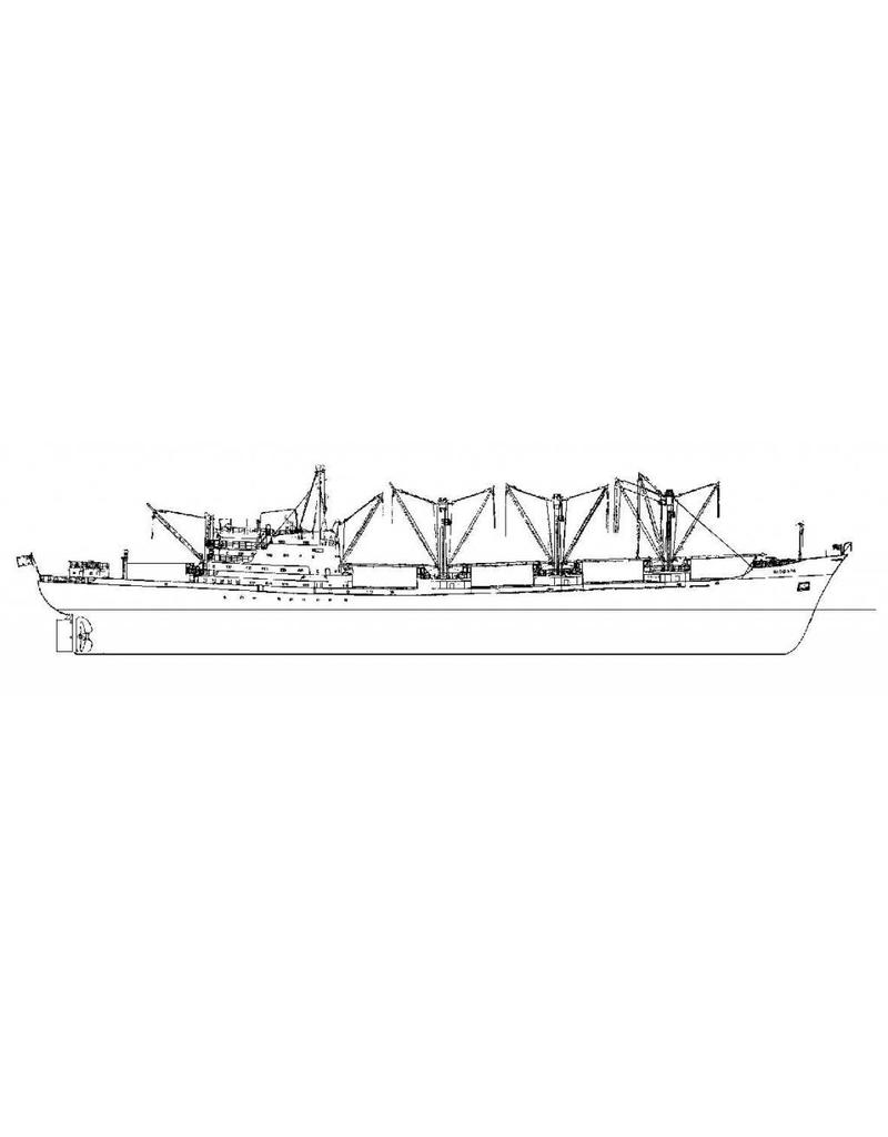 """NVM 16.10.021 vrachtschip ms """"Sidonia"""" (1961) - Anchor Line"""