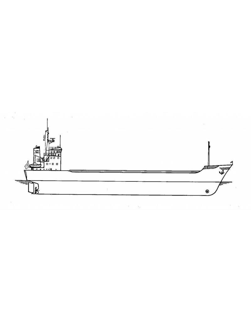 """NVM 16.10.024 vrachtschip ms """"Sertan"""" (1977) - Van Nievelt Goudriaan/Nigoco"""