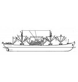 """NVM 16.10.025 vrachtschip ms """"Giessenkerk"""" (1956) - VNS/Nedlloyd"""