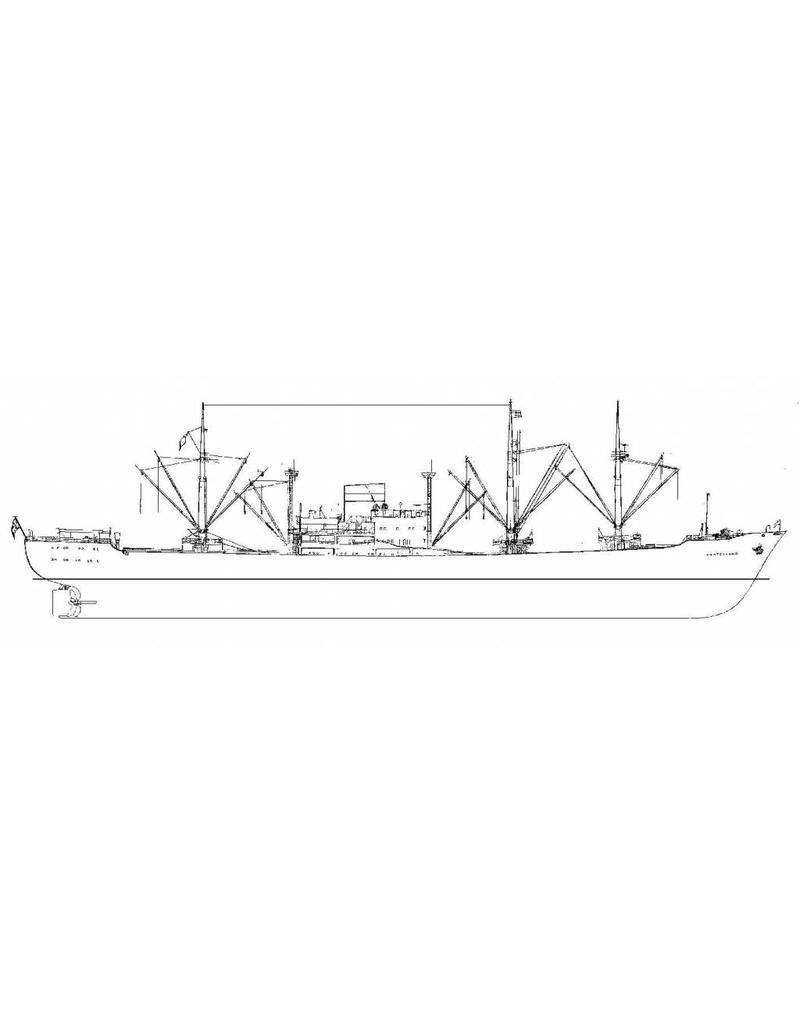 "NVM 16.10.035 vrachtschip ms ""Amstelland"" (1962) - KHL"