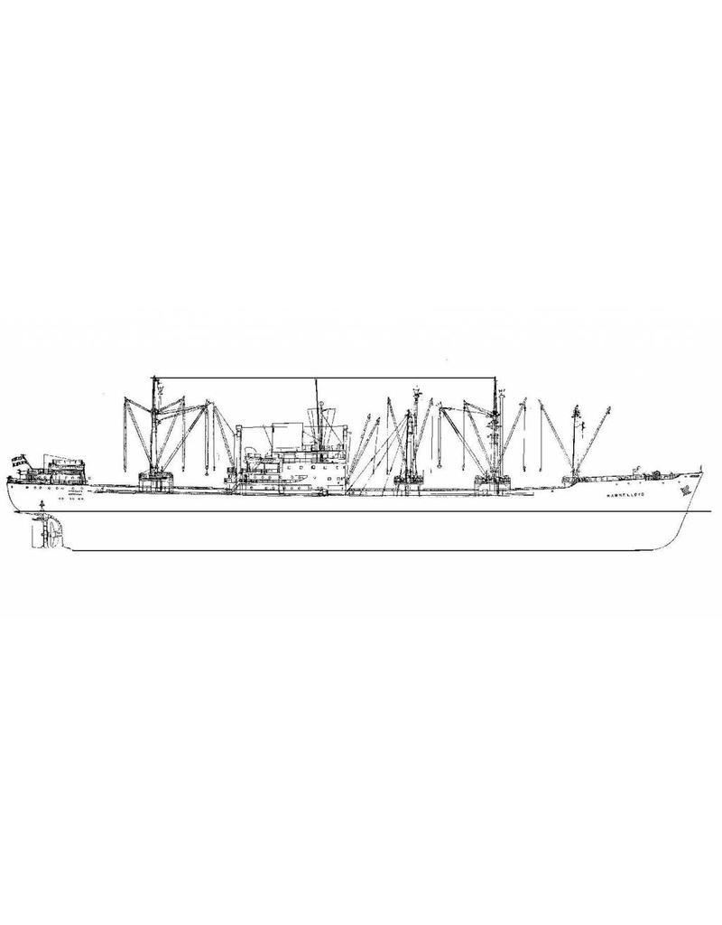 """NVM 16.10.036 vrachtschip ms """"Marnelloyd"""", """"Merwelloyd"""", """"Maaslloyd"""", """"Mis.lloyd (1957) - KRL/Nedlloyd"""