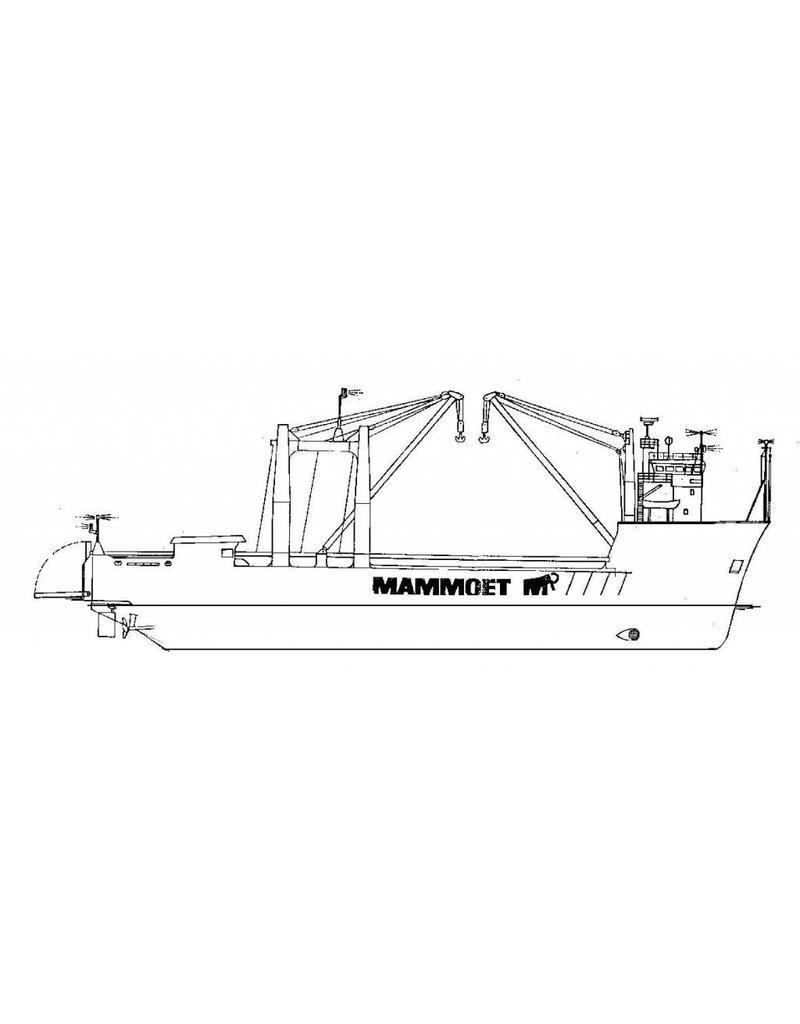 "NVM 16.10.042 vrachtschip dsms ""Happy Rider"" (1976) - Mammoet Shipping"