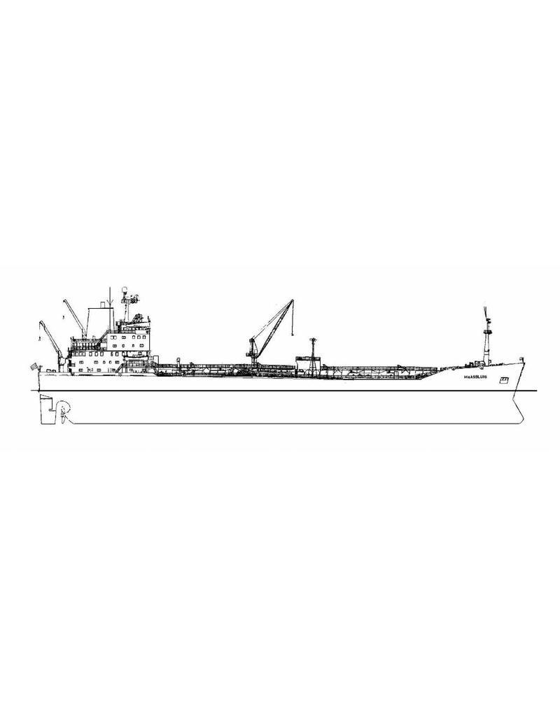 "NVM 16.10.043 productentanker ms ""Maassluis"", ""Maasstad"", ""Maasstroom"" (1982)-Nedlloyd Tankers"