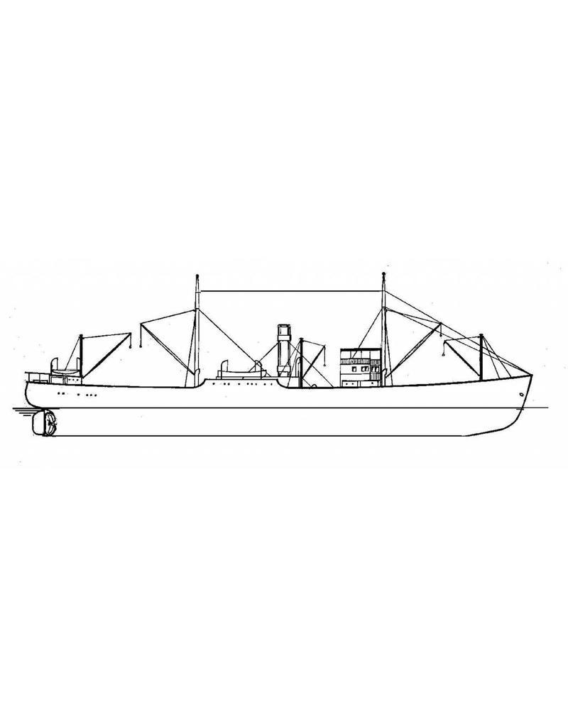 """NVM 16.10.052 vrachtschip ss"""" Ariadne"""" (1918) - KNSM"""