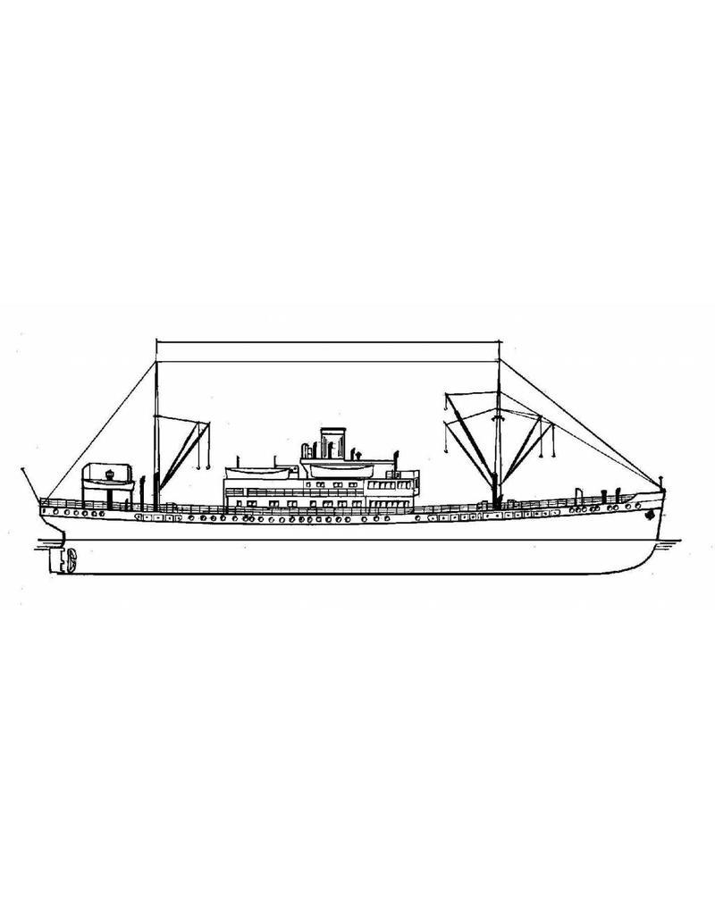 """NVM 16.10.054 vrachtschip ms """"Karossa"""" (1947/1952) - KPM en zusterschepen"""