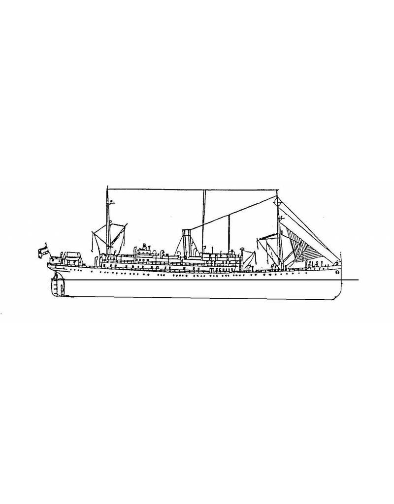 """NVM 16.10.057 pass.schip ss """"Venezuela"""", """"Colombia"""" (1915) - Kon. West-Indische Maildienst"""
