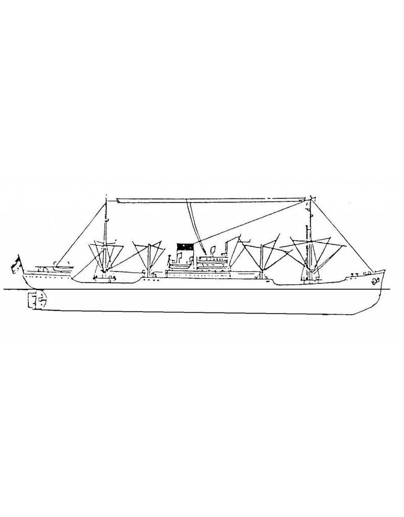 "NVM 16.10.059 vrachtschip ms ""Java"" (1939), ""Celebes"", ""Sumatra"", ""Borneo"", ""Bali"" (1939/1946/47) - SMN"