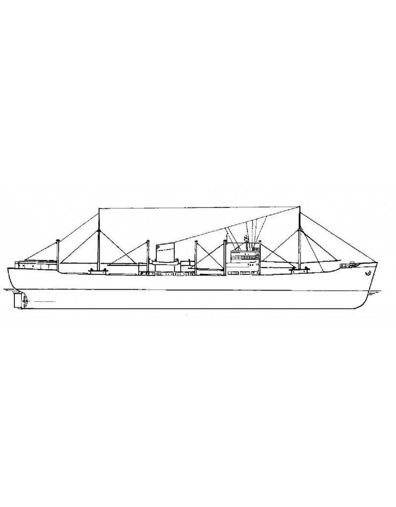 """NVM 16.10.062 vrachtschip ms """"Bintang"""" (1950) - SMN"""