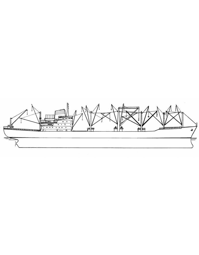 "NVM 16.10.076 vrachtschip ms ""Hammonia"" (1965) - HAPAG/Hapag-Lloyd"