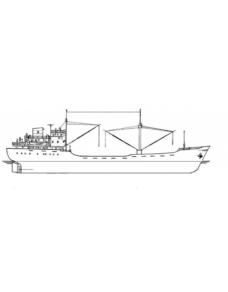 """NVM 16.10.097 vrachtschip ms """"Sheratan"""" (1953) - v.Nievelt Goudriaan"""