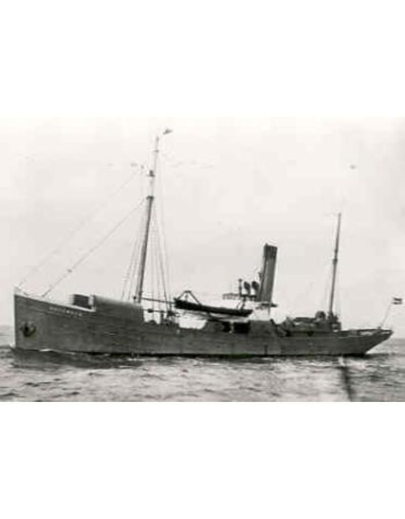 """NVM 16.11.013 HrMs Mijnenlegger """"Vulcanus"""" (1917) - ex stoomtrawler """"Azalea"""" (1902)"""