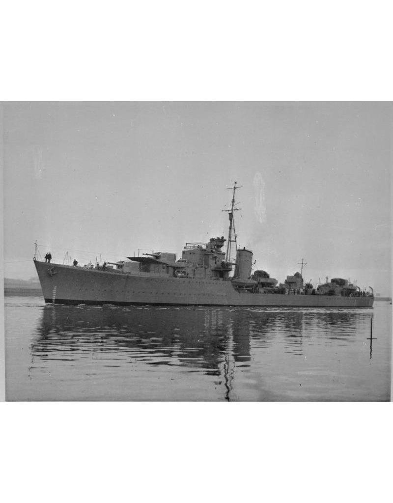 "NVM 16.11.018 torpedobootjager HrMs ""Van Galen"" (1942) - ex HMS"" Noble"" (1939)"