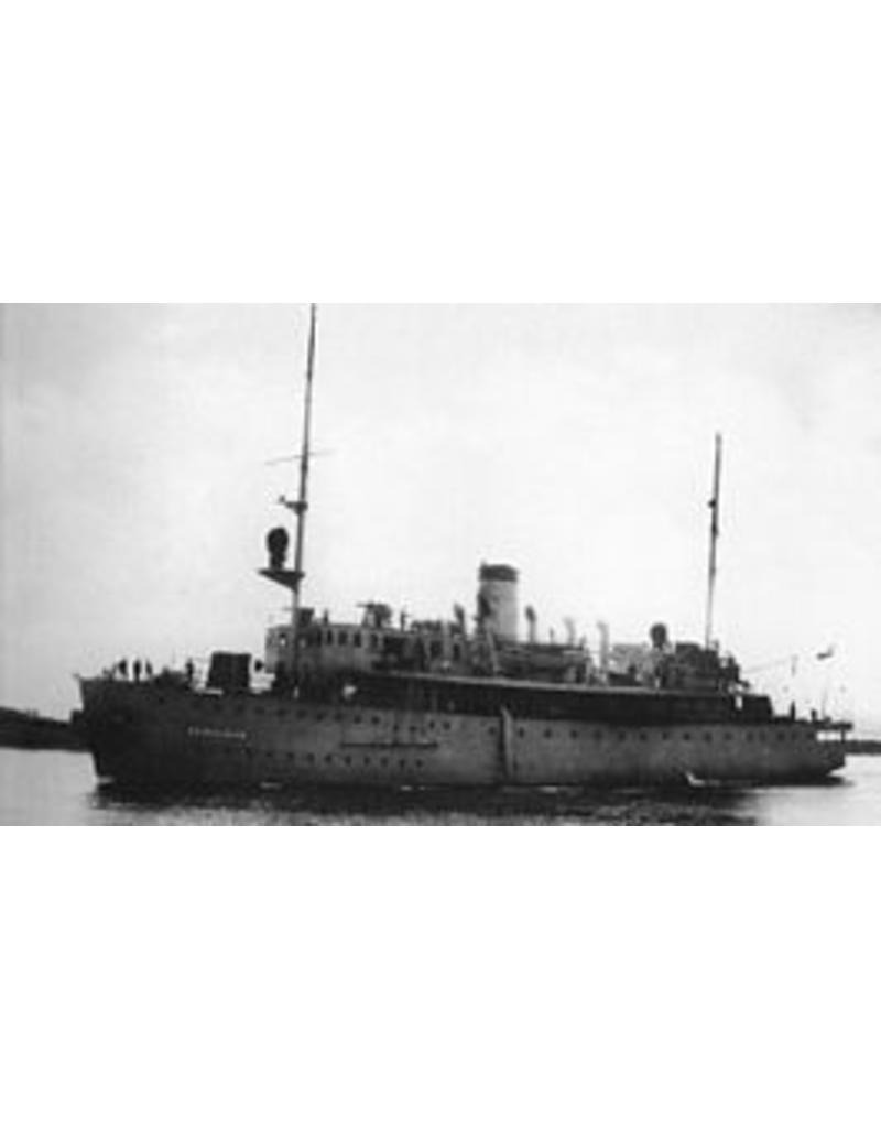 """NVM 16.11.034 HrMs mijnenleggers """"Prins van Oranje"""", """"Gouden Leeuw"""" (1932)"""