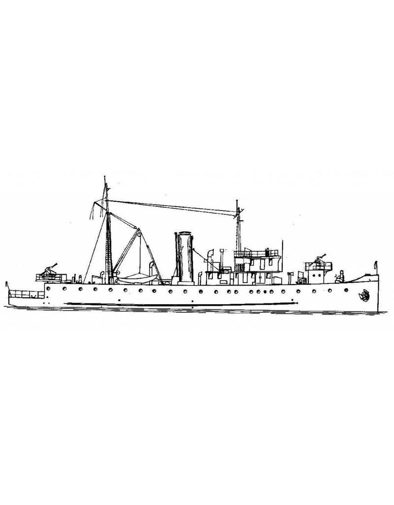 """NVM 16.11.009 HrMs Mijnenlegger """"Douwe Aukes"""" (1922)"""