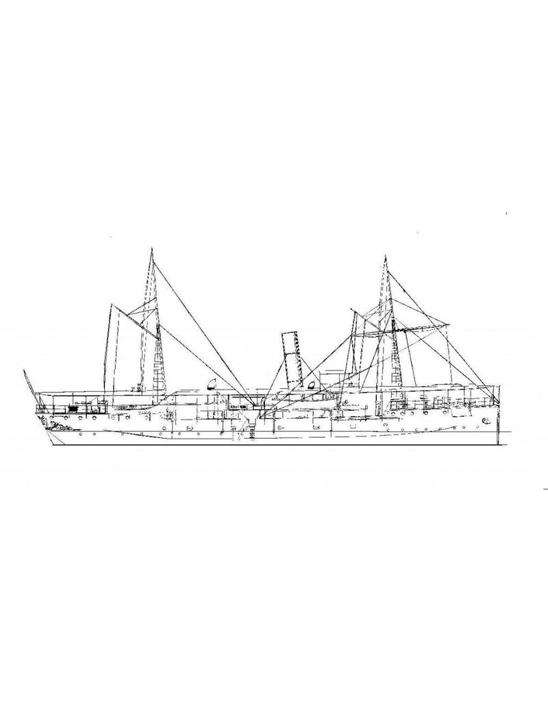 "NVM 16.11.011 HrMs flottieljevaartuig ""Mataram"" (1897)"