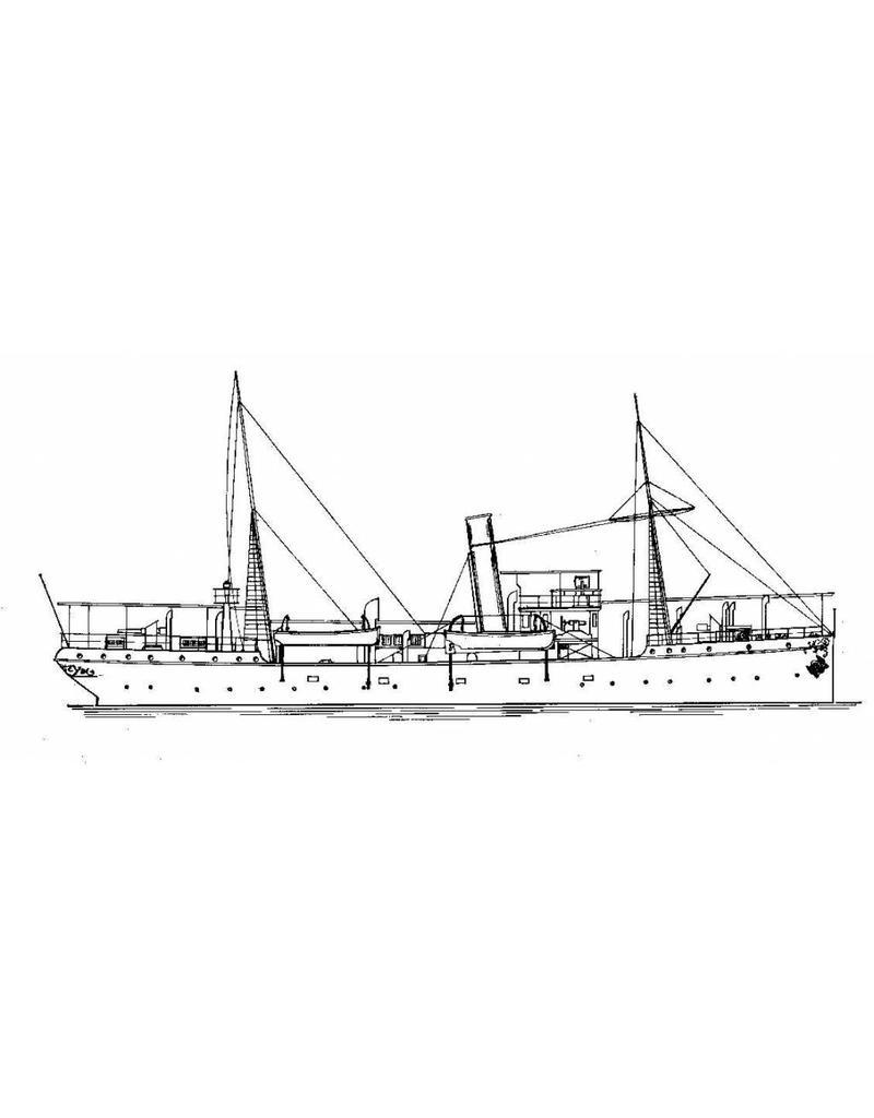 """NVM 16.11.028 flottieljevaartuig HrMs """"Assahan"""" (1900)"""