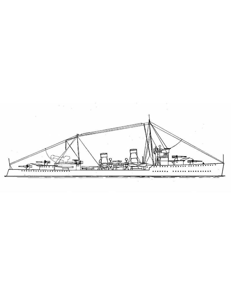 """NVM 16.11.041 HrMs Torpedobootjagers """"Van Nes"""" (1931), """"Banckert"""" (1930)"""