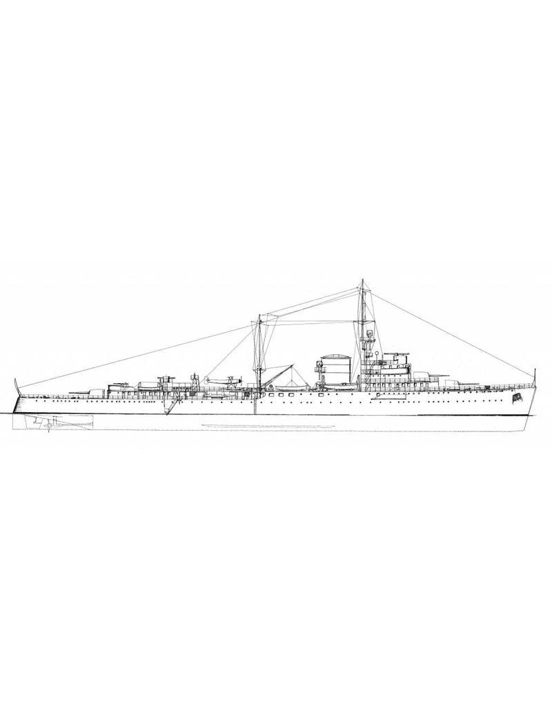 NVM 16.11.046 flottieljeleider/lichte kruiser HrMs Tromp (1938) en Jacob van Heemskerck (1940)