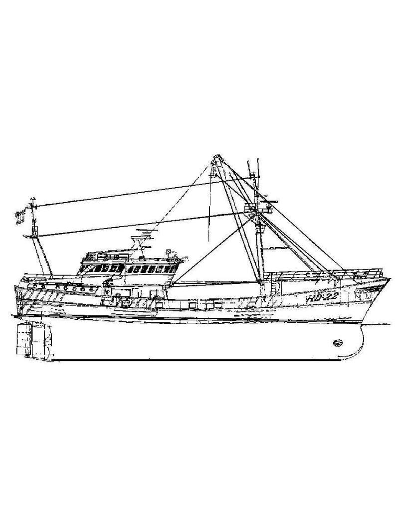 NVM 16.13.003 trawler ms Noorderhaaks HD 22 (1982)
