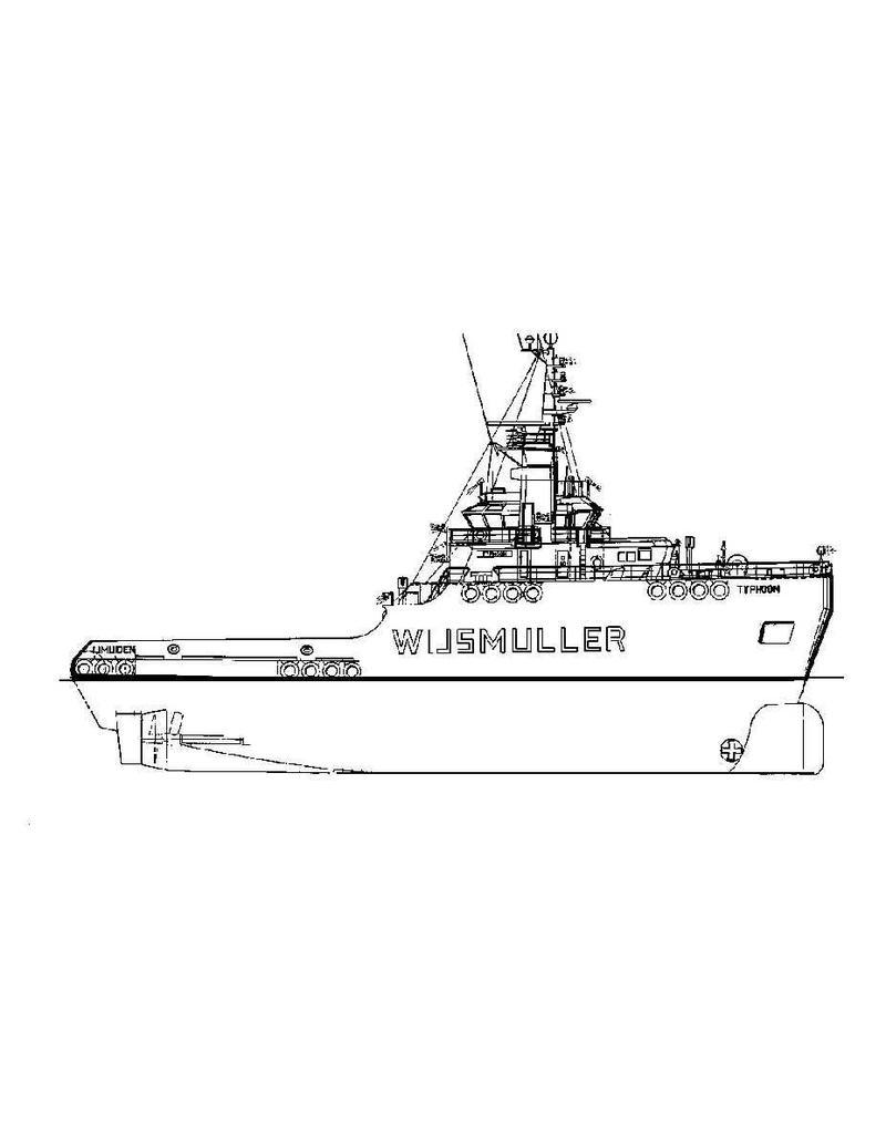 NVM 16.14.012 zeesleper ms Typhoon (1976) - Wijsmuller