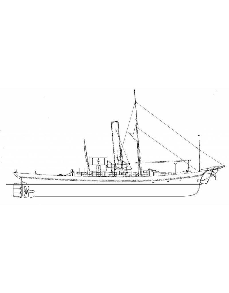 NVM 16.14.022 rijnsleepb ss Wacht am Rhein (1893) voor verbouwing