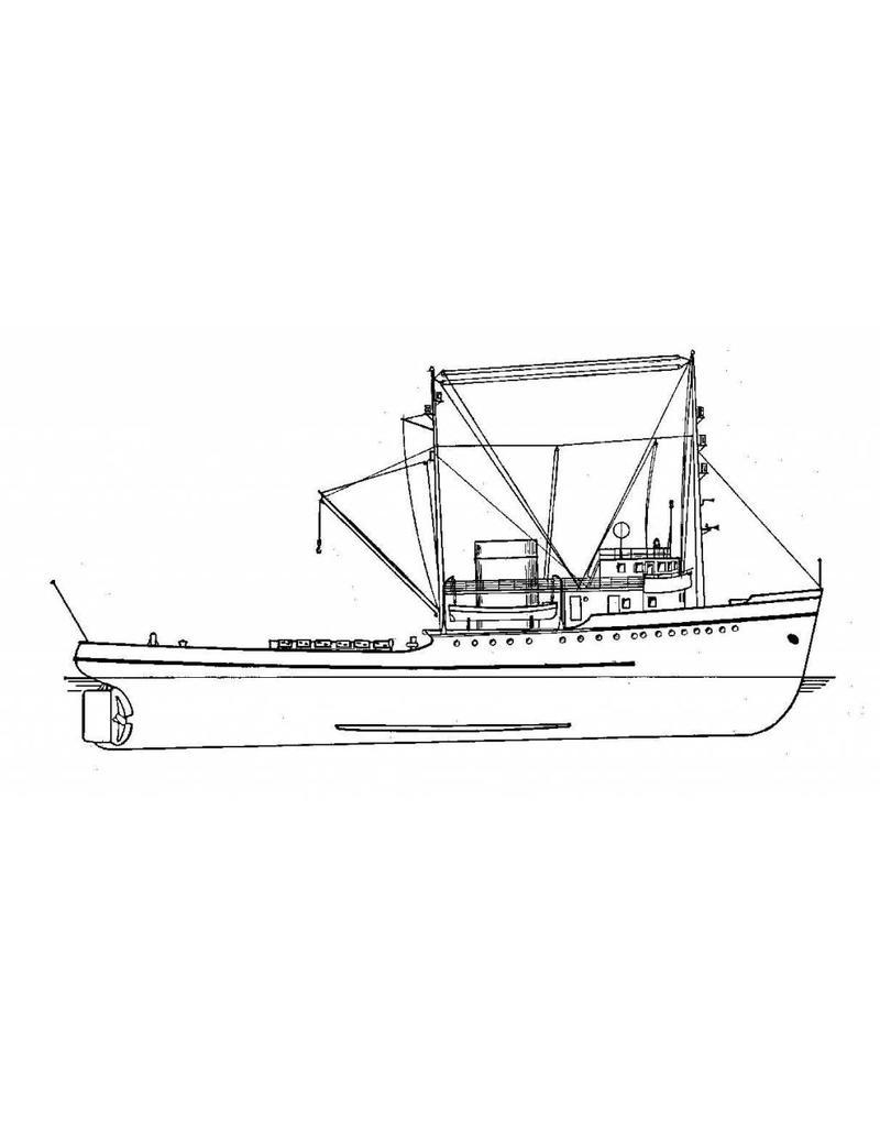 NVM 16.14.035 zeesleper ms Oceaan (1951) - L.Smit&Co
