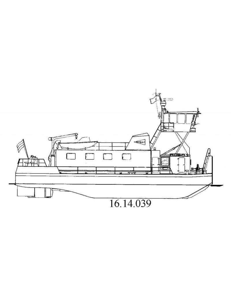 NVM 16.14.039 duwboot Roba I en II (1972) - J.F. Koenigsfeld BV, Rtd