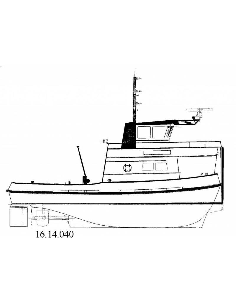 NVM 16.14.040 duw/sleepboot Neptunus 11,12 (1977) - Zwaak BV, R'dam