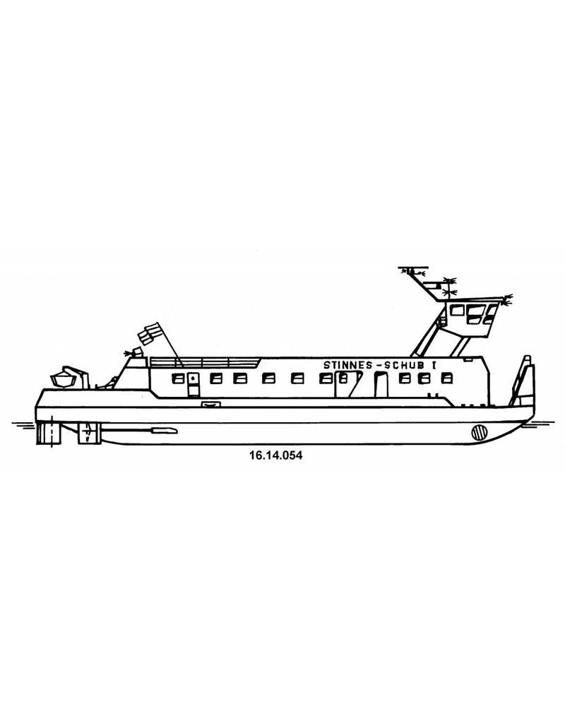 NVM 16.14.054 duwboot ms Stinnes Schub I (1983) - Stinnes - (1998) Rhenus Schub I