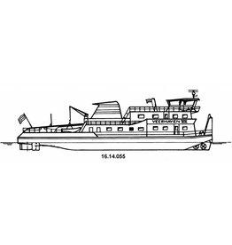 """NVM 16.14.055 duwboot ms Veerhaven VII """"Walrus""""(1990) - Veerhaven"""