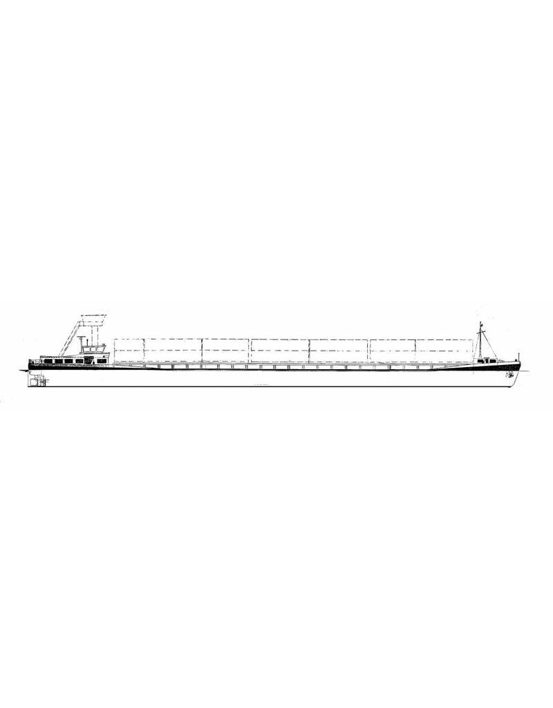 NVM 16.15.016 binnenvaart containerschip (1985)