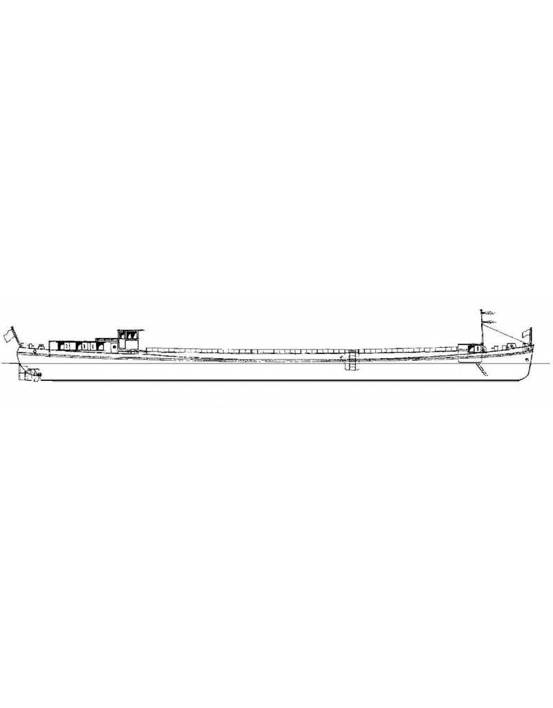 NVM 16.15.022 motortankschip Karl Vortisch - (1958) - TransportGmbH zu Berlin; 1958 Dagmar L