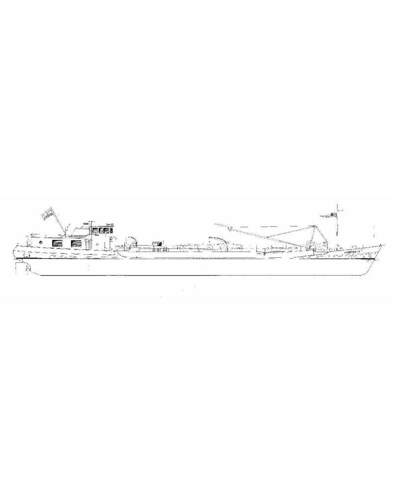 NVM 16.15.039 tankschip ms Vreeswijk (1961) - VT; Velswijk