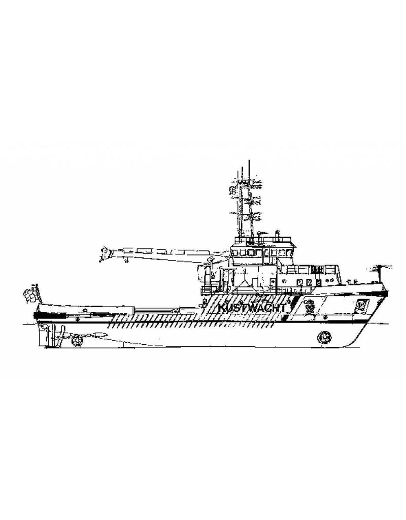"""NVM 16.18.001 Betonningsvaartuig ms """"Frans Naerebout"""", """"Terschelling""""(1987) - RWS"""