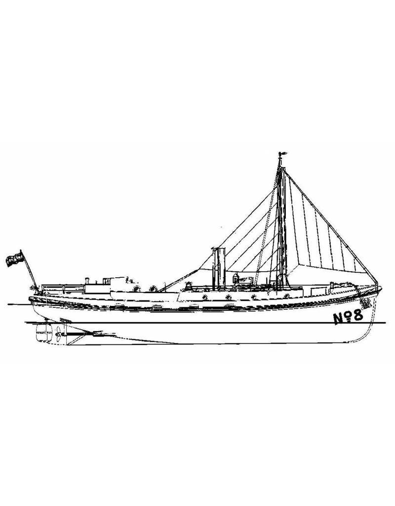 NVM 16.18.011 motorafhaalboot voor het Loodswezen te Vlissingen nr. 8 en 9 (1928)
