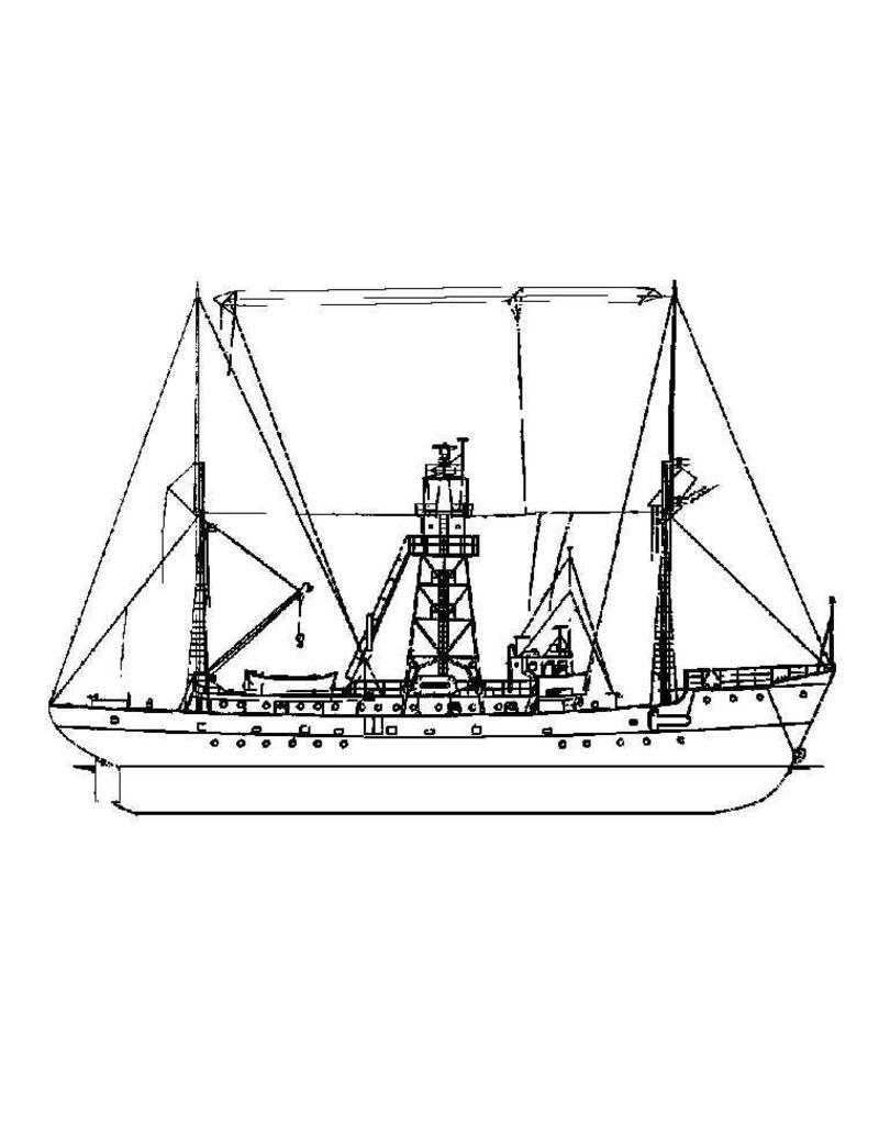 """NVM 16.18.013 lichtschip 10 """"Texel"""" en 11 """"Terschellingerbank"""" (1952/53)"""