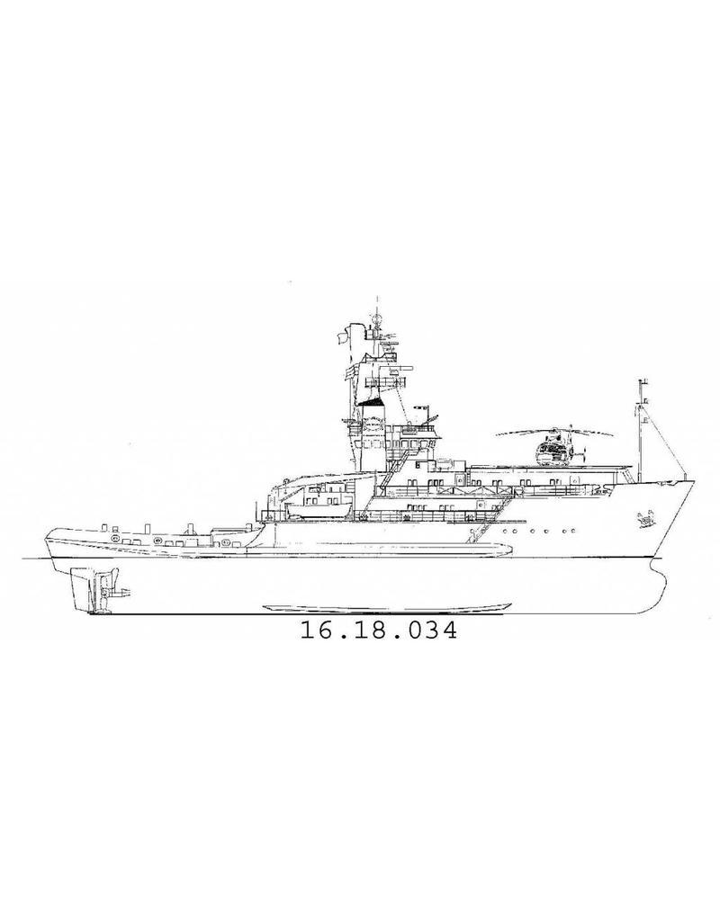 "NVM 16.18.034 bergingssleepboot ""Waker"" (1977) ex Solo (Greenpeace) ex Smit Houston"
