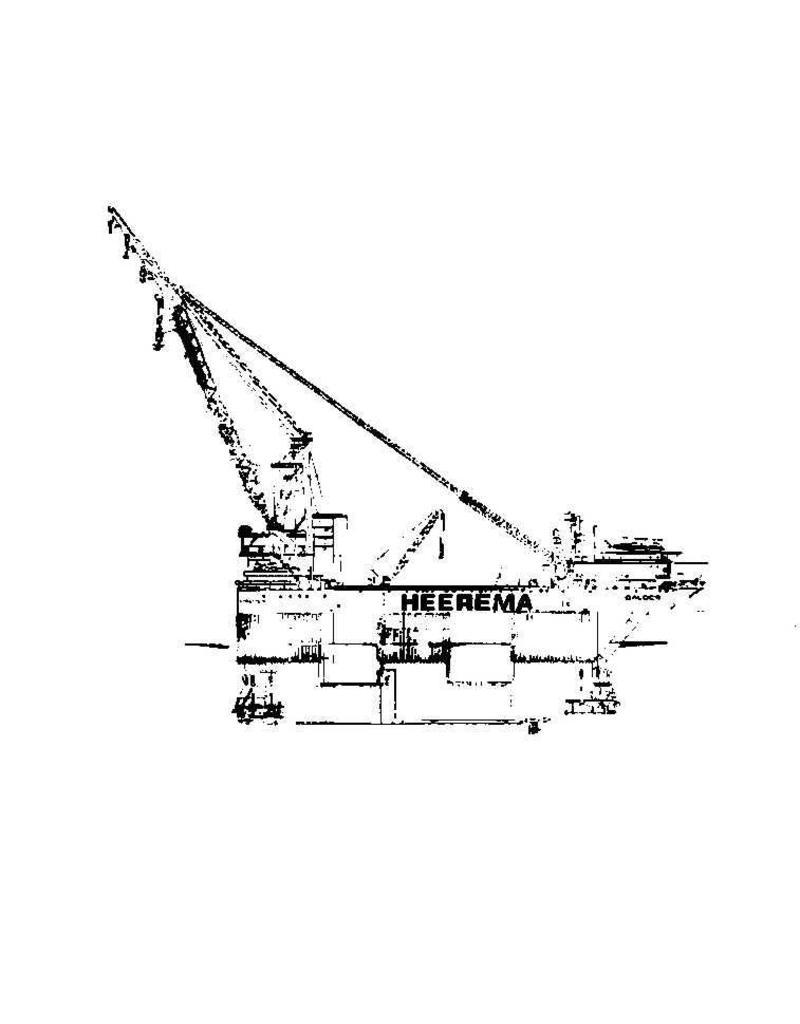 """NVM 16.19.020 kraaneiland """"Balder"""" (1978) - Heerema"""