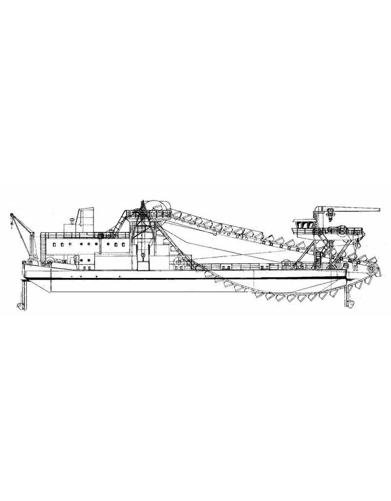 NVM 16.19.029 baggermolen Rhea (1977)