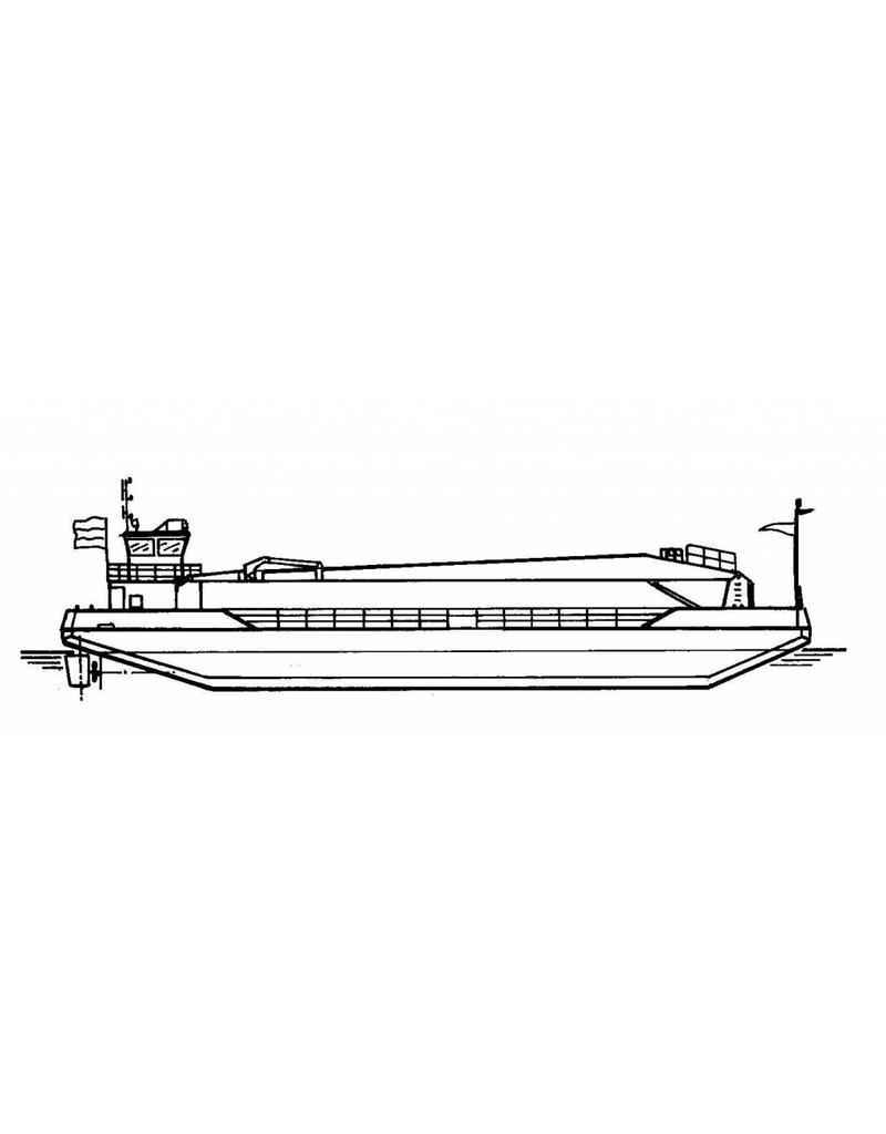 NVM 16.19.037 zelfvarend kraanponton Crane Barge 2 - van Esch International
