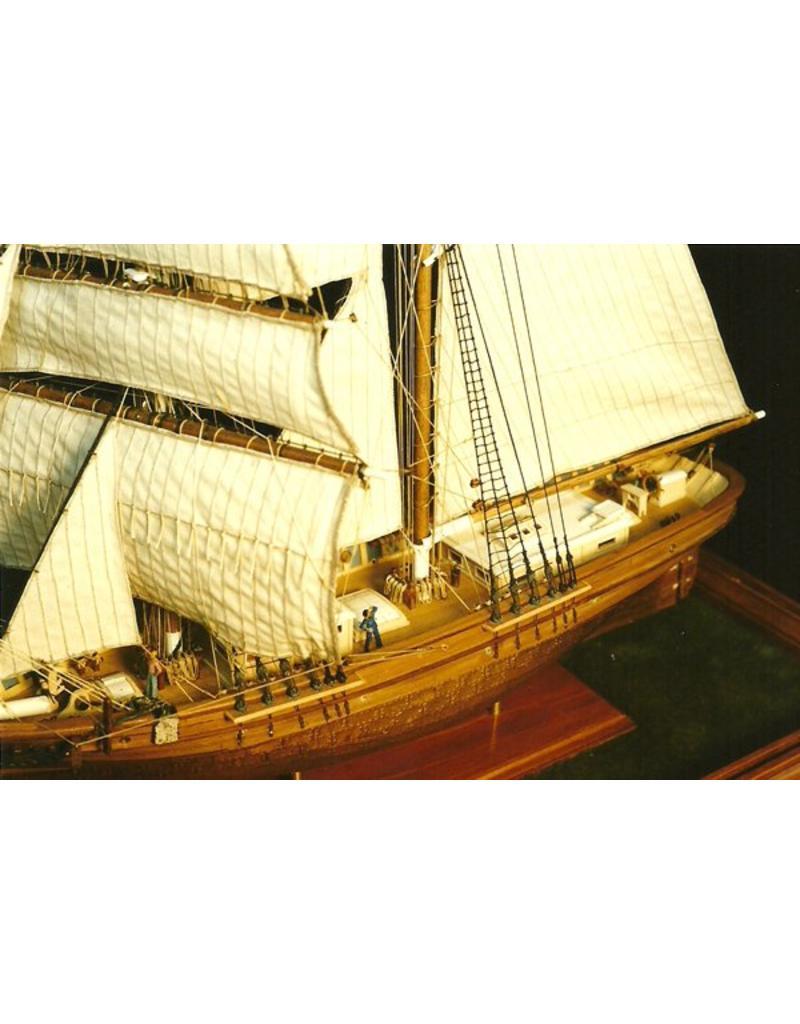 "NVM 10.00.018 Brigantijn ""Newsboy"" (1854)"