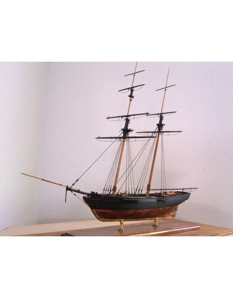 """NVM 10.00.019 Baltimore clipper """"Fair Rosamond"""" ex """"Dos Amigos"""" (ca 1832)"""