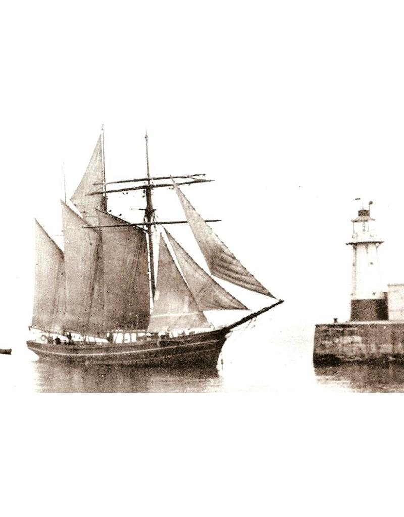"""NVM 10.00.022 Schoeners """"M.A.James"""" (1899) en """"Mary Rhoda"""""""""""