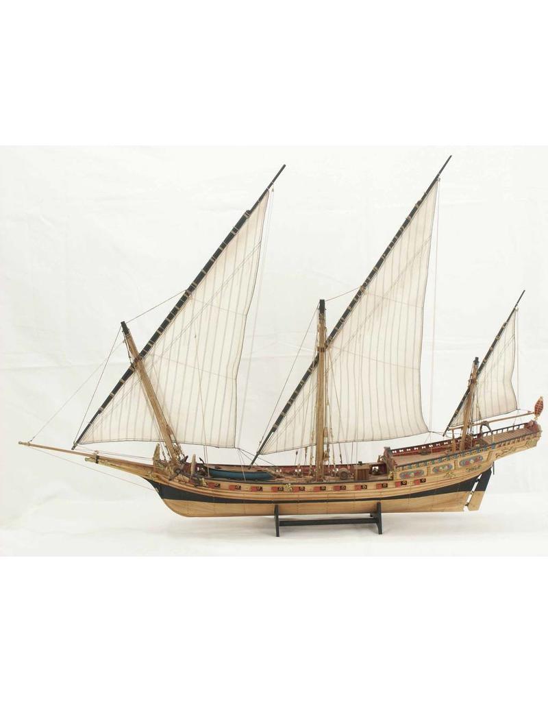 NVM 10.01.022 Noord Afrikaans zeilschip Chebec (1750 - 1786)