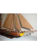 NVM 10.05.005 overboordige houten Rijnaak (19e eeuw)