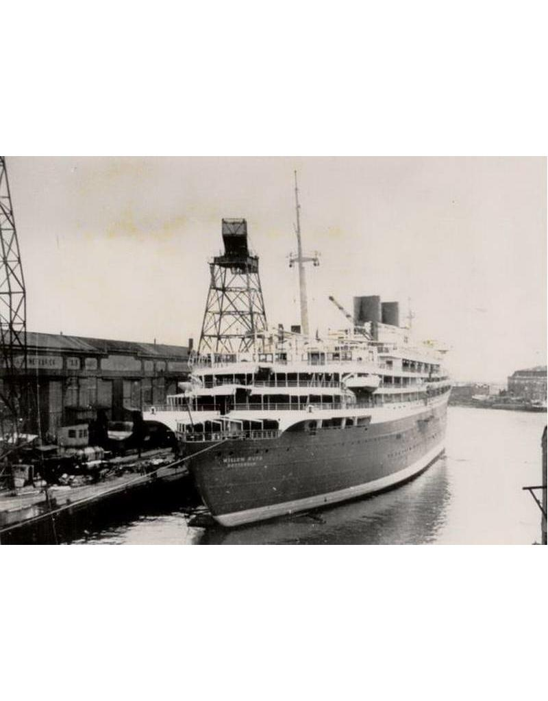 "NVM 10.10.002 passagiersschip ms ""Willem Ruys""; (1939/1947) - Kon.Rott.Lloyd"
