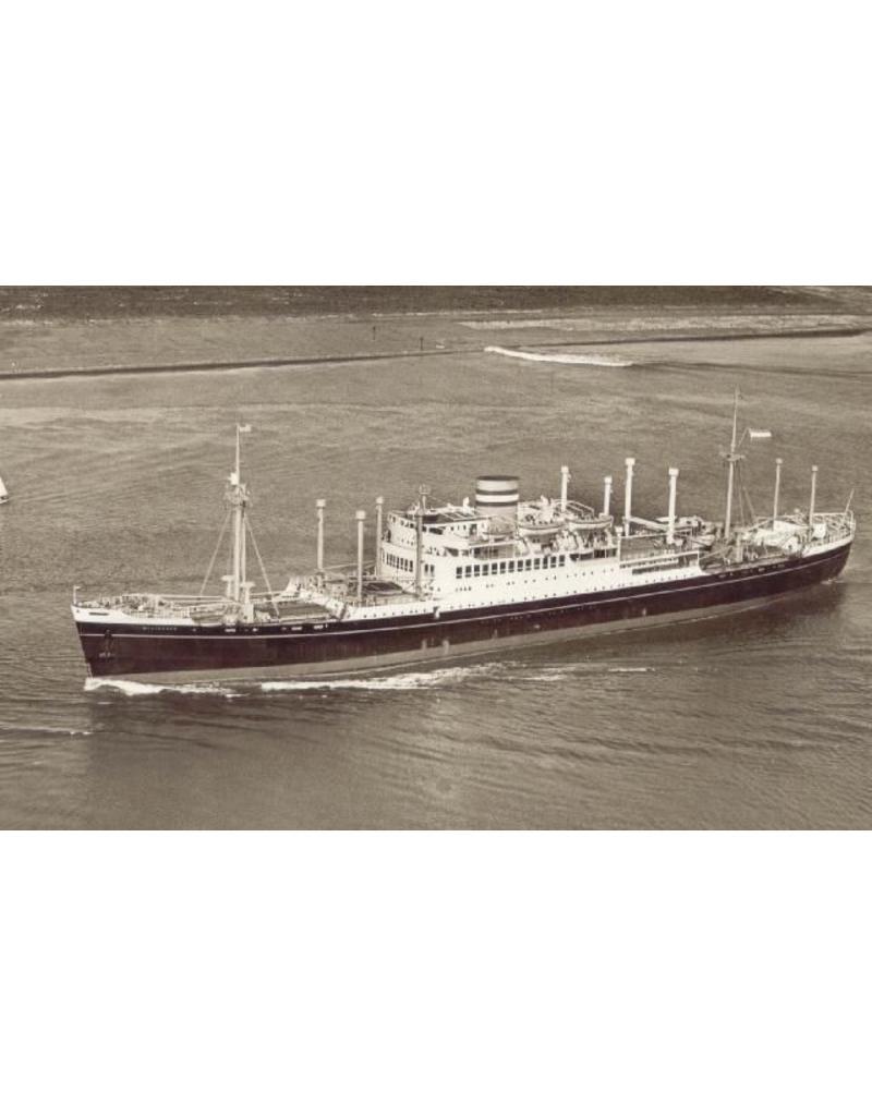 NVM 10.10.009/A vracht-pass.schip ds ms Westerdam (1939/1946) - HAL